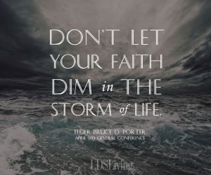 storms and faith