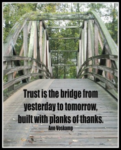trust is the bridge